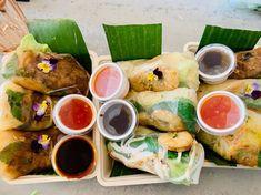 "Tasha's Kitchen on Instagram: ""Springrolls to share!! . . #springrolls #fresh #fromsratch #vegan #veggies #shrimps #lekker #summervibes #summerfood #comfortfood…"""