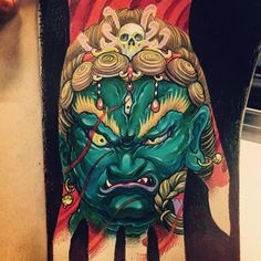 Fudo myoo for hand tattoo @chronicink #workproud #wearproud