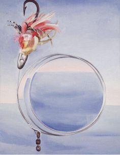 'Hameçon From Hawaii - Non, je' de Georgia O'keeffe (1887-1986, United States)