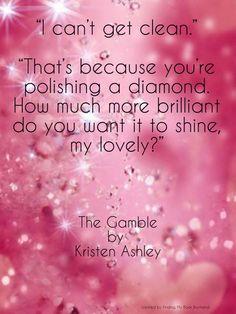 Nina to Mindy ~ The Gamble by Kristen Ashley