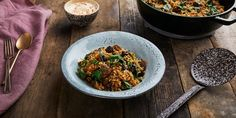 Helen's lamb and rice tagine recipe is a fantastically comforting one-pot dish for the colder months.