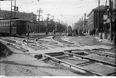 Queen, King and Roncesvalles in 1920