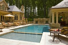 Rectangular Pools Ans Hot Tubs Design Ideas, Pictures, Remodel, and Decor - page 32