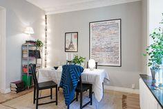 Rummet kan vara antingen matsal eller sovrum