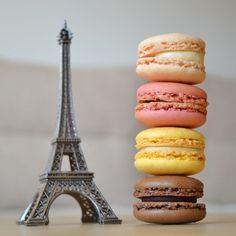Macarons & Eiffel Tower souvenir.