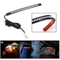 Motorcycle SMD LED License Brake Tail Light Turn Signals For Bobber Cafe Racer