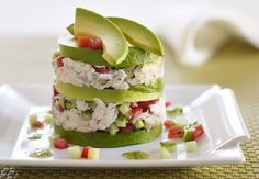 California Avocado Dungeness Crab Tower Recipe | California Avocado Commission