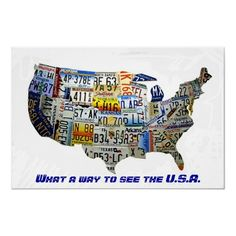 American Eagle USA Flag US State Flags Map Posters Maps And - Show me the map of united states of america