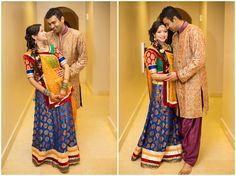 Wyndham Jacksonville Riverwalk wedding | Couple portrait | Garba | Chaniya Choli | Lehngha | Kurta | Sherwani | Braid | Indian wedding | Jacksonville wedding photographer