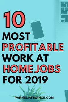 Looking for high paying work at home jobs to make money from home? Here are some legitimate jobs that pay you from home! Click through to see some home business ideas! Online Work From Home, Work From Home Tips, Make Money From Home, Make Money Online, How To Make Money, Work At Home Jobs, Quick Money, Money Fast, Own Business Ideas