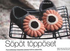 KODIN PELLERVO 10/2015. Malvikki slippers by Pia Heilä for LANKAVA Oy.