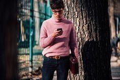 Fashion Week homme Street looks Milan automne hiver 2016 2017 2