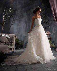 naomi neoh loveletters eugenie wedding dress strapless lace ball gown