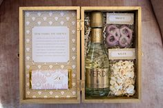 like the idea of a little box for wedding favors
