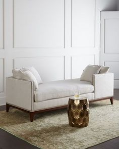 Teagan Double Chaise at Horchow. Seating for both Nate and I in the nursery.