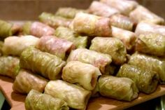 Stuffed Cabbage Rolls Recipe Secrets-the best cabbage rolls are the traditional Romanian, made with pickled cabbage Ukrainian Cabbage Rolls, Easy Cabbage Rolls, Romanian Cabbage Rolls Recipe, Ukrainian Food, Fermented Cabbage, Pickled Cabbage, Cabbage Recipes, Pork Recipes, Cooking Recipes