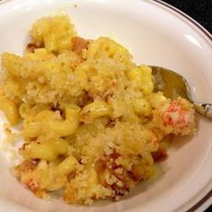 Lobster-Bacon Macaroni and Cheese Allrecipes.com