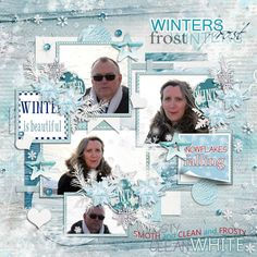 """Templates """"My life in photobook 11"""" by Tinci http://store.gingerscraps.net/My-life-in-photobook-11..html  Kit """"Winter Frost"""" by Sekada designs http://store.scrapgirls.com/Winters-Frost-Collection-Biggie.html"""