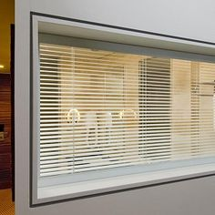 Controllaview introduces a new range of hermetically sealed, integrated Venetian blinds in glass for commercial or industrial buildings.