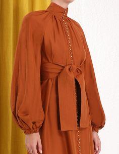 Ninety-Six Billow Dress Model Kebaya Muslim, Drape Skirt Pattern, Skirt Fashion, Fashion Dresses, Moslem Fashion, Silk Midi Dress, Curvy Outfits, African Fashion, New Dress