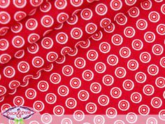 Wunderschöner weichfließender Stoff (Popeline) mit symmetrisch angeordneten filigranen Pünktchen... - zuckersüßes feines Motiv!  Ideal zum Nähen ...