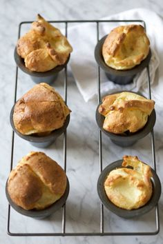 Courtesy of Elizabeth Winslow—Popovers are delicious as a savory dinner roll, or break them open and stuff with a spoonful of your favorite fruit preserves.