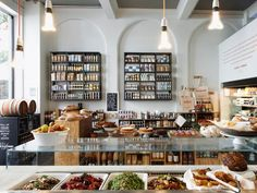 Beautiful grocery, food store Melrose & Morgan London. Every thing is home made with uk produce x: