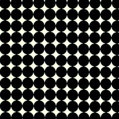 Black White Geometric Upholstery Fabric By The Yard Polka Dot Fabric Black White Curtains Black White Roman Shade Custom Pillows
