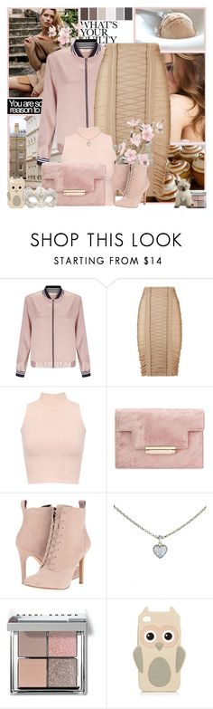 """What's your guilty pleasure?"" by l33l ❤ liked on Polyvore featuring Miss Selfridge, Balmain, WearAll, BCBGeneration, Cartier, Seed Design, Bobbi Brown Cosmetics and Swarovski"