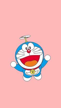 Gambar Wallpaper Doraemon Pink Lucu