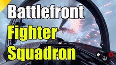 Star Wars Battlefront Fighter Squadron Gameplay