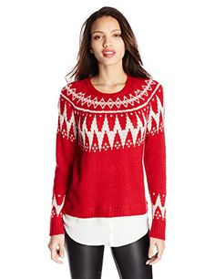 Just saw this on Amazon: Kensie Women's Fair Isle Twofer Sweater by kensie http://www.amazon.com/gp/product/B00NYWHTYQ?ie=UTF8&camp=213733&creative=393177&creativeASIN=B00NYWHTYQ&linkCode=shr&tag=classicalco08-20&linkId=3GMPGYUAKGDGXVTE&refRID=1A6RZQ12K2GH5PFT309Y via @amazon