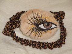 Dog Eye Patch  EYE LOVE YOU  Eye Patch for your Pet  by rendachs, $20.00