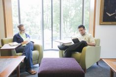 With natural light pouring in from the central four-story atrium, plush seating throughout, and a cafe providing space for conversation and community-building, the library is truly one of the finest resources in the world for Christian theological scholarship.