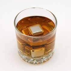 Whiskey stones , keep the whiskey cold