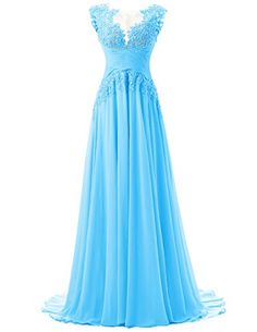 Dresstells® Women's Appliques A-line Chiffon Prom Dress Evening Party Dress Dresstells http://www.amazon.co.uk/dp/B01A6Z21ZU/ref=cm_sw_r_pi_dp_OFXJwb15KHTG3