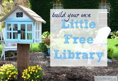 Build Your Own Little Free Library! Free plans included***