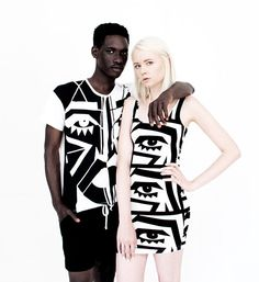 Kesh x American Apparel  http://poprocky.com/2013/07/05/kesh-x-american-apparel/
