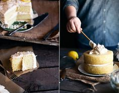 Lemon Cake with Black Tea Frosting, I WILL make you!
