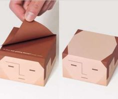 The Balding Sticky Notes are Quirky and Fun #stationery trendhunter.com