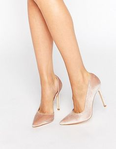 On SALE at 37% OFF! Open waisted pumps by London Rebel. Shoes by London Rebel, Textile upper, Slip-on style, Pointed toe, High heel, Wipe clean, 100% Textile Upper, Heel hei...