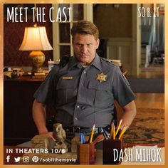 """""""Maybe we were waiting for you, Heidi, and we didn't even know it.""""  Dash Mihok is Roy. #meetthecast #sobit"""