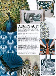 CAPPELLINI Peacock by Dror on Schoener Wohnen