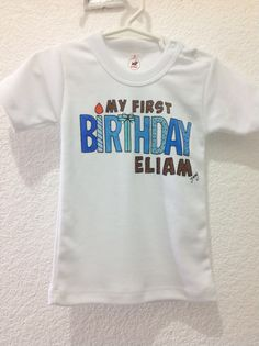 Playera Eliam 1 Año, by Jenny