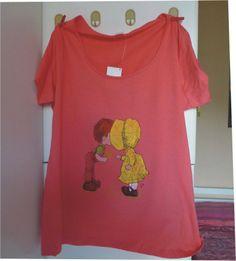 tshirt saraK1, by Laboratorio Elisa Villalba, 15,00 € su misshobby.com