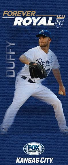 2015 'Forever Royal' pole banners | FOX Sports - Danny Duffy