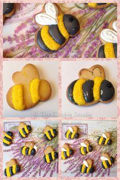 Die zijn wel schattig: bijen koekje