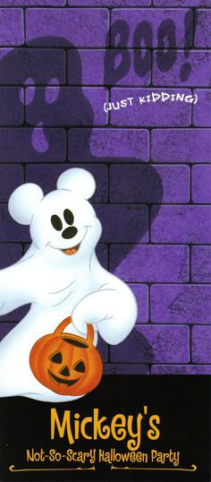 Mickey's Not-So-Scary Halloween Party: Really hoping we can save enough money to do this.