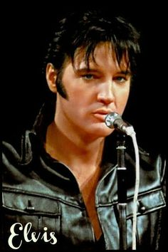 "Elvis on the  show ""Come back "" - 1968"