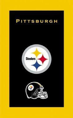 KR NFL Towel Pittsburgh Steelers Large Main Image